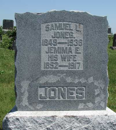 JONES, JEMIMA EVALINE - Worth County, Missouri | JEMIMA EVALINE JONES - Missouri Gravestone Photos