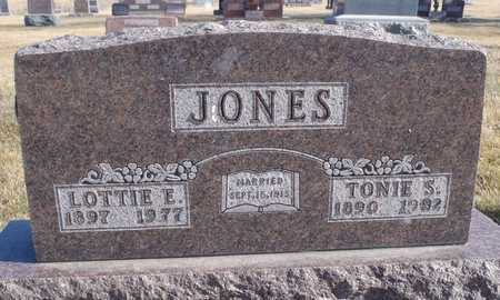 JONES, TONY SOLOMON - Worth County, Missouri | TONY SOLOMON JONES - Missouri Gravestone Photos