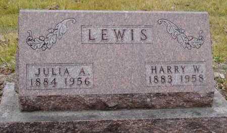 LEWIS, JULIA ANN - Worth County, Missouri | JULIA ANN LEWIS - Missouri Gravestone Photos