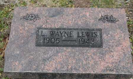 LEWIS, L. WAYNE - Worth County, Missouri   L. WAYNE LEWIS - Missouri Gravestone Photos