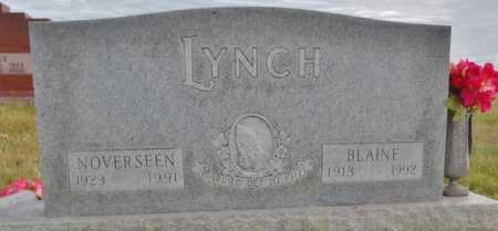 LYNCH, NOVERSEEN - Worth County, Missouri | NOVERSEEN LYNCH - Missouri Gravestone Photos