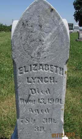 LYNCH, ELIZABETH W - Worth County, Missouri | ELIZABETH W LYNCH - Missouri Gravestone Photos