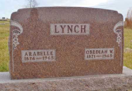 LYNCH, ARABELLE - Worth County, Missouri | ARABELLE LYNCH - Missouri Gravestone Photos