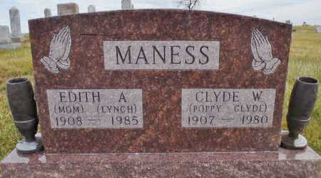 MANESS, EDITH A. - Worth County, Missouri | EDITH A. MANESS - Missouri Gravestone Photos