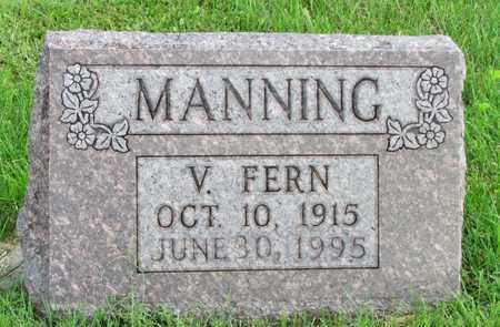 MANNING, V. FERN - Worth County, Missouri   V. FERN MANNING - Missouri Gravestone Photos