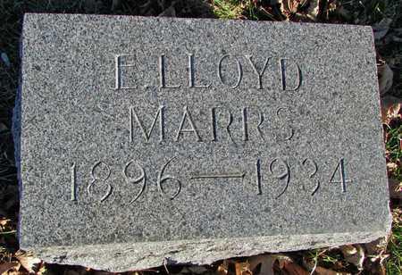 MARRS, EDWARD LLOYD - Worth County, Missouri   EDWARD LLOYD MARRS - Missouri Gravestone Photos