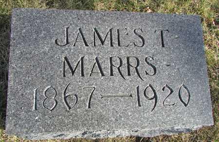 MARRS, JAMES T. - Worth County, Missouri   JAMES T. MARRS - Missouri Gravestone Photos
