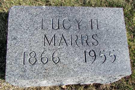 MARRS, LUCY H. - Worth County, Missouri | LUCY H. MARRS - Missouri Gravestone Photos