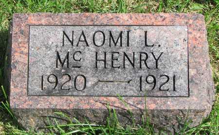 MCHENRY, NAOMI L. - Worth County, Missouri   NAOMI L. MCHENRY - Missouri Gravestone Photos