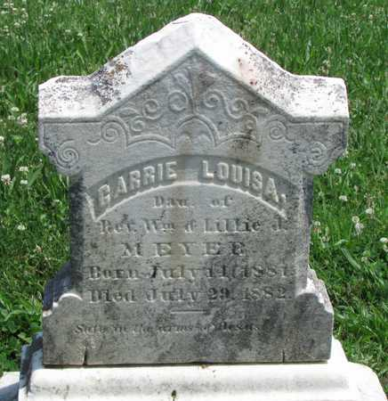 MEYER, CAROLINE LOUISA - Worth County, Missouri | CAROLINE LOUISA MEYER - Missouri Gravestone Photos