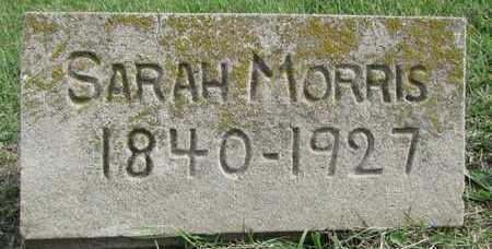 MORRIS, SARAH - Worth County, Missouri | SARAH MORRIS - Missouri Gravestone Photos