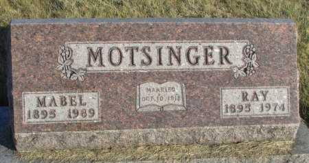 MOTSINGER, MABEL GUSTAVAH - Worth County, Missouri | MABEL GUSTAVAH MOTSINGER - Missouri Gravestone Photos