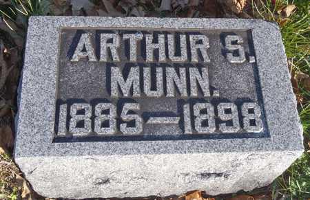 MUNN, ARTHUR S - Worth County, Missouri | ARTHUR S MUNN - Missouri Gravestone Photos