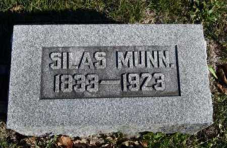 MUNN, SILAS - Worth County, Missouri | SILAS MUNN - Missouri Gravestone Photos
