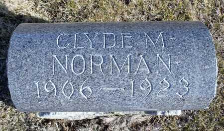 NORMAN, CLYDE M. - Worth County, Missouri   CLYDE M. NORMAN - Missouri Gravestone Photos