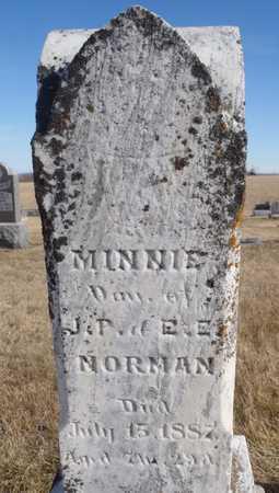 NORMAN, MINNIE - Worth County, Missouri | MINNIE NORMAN - Missouri Gravestone Photos