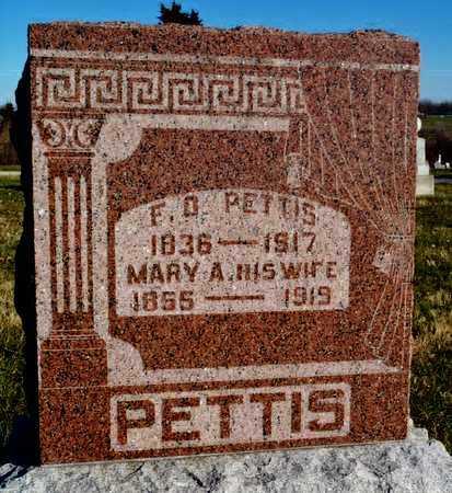 PETTIS, MARY ALICE - Worth County, Missouri | MARY ALICE PETTIS - Missouri Gravestone Photos
