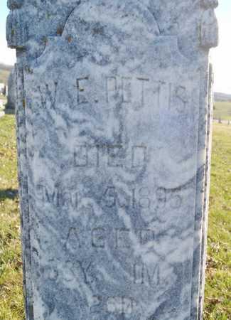 PETTIS, W. E. - Worth County, Missouri | W. E. PETTIS - Missouri Gravestone Photos