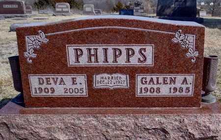 PHIPPS, GALEN ANDERSON - Worth County, Missouri | GALEN ANDERSON PHIPPS - Missouri Gravestone Photos