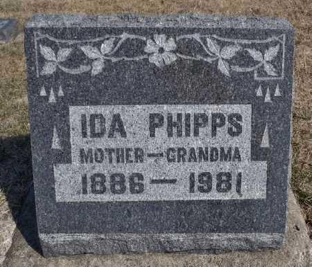 PHIPPS, IDA DELL - Worth County, Missouri | IDA DELL PHIPPS - Missouri Gravestone Photos