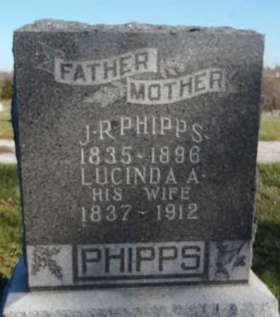 PHIPPS, LUCINDA ALICE - Worth County, Missouri | LUCINDA ALICE PHIPPS - Missouri Gravestone Photos