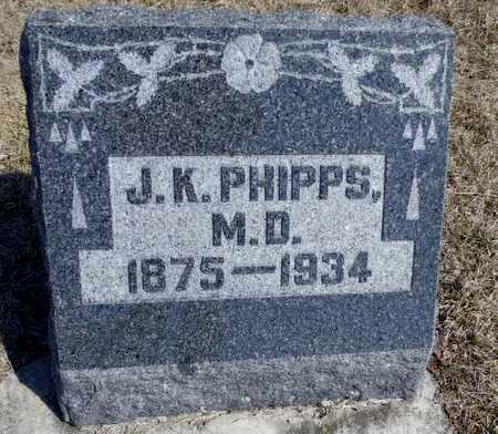 PHIPPS, JOSEPH KECK  DR - Worth County, Missouri | JOSEPH KECK  DR PHIPPS - Missouri Gravestone Photos