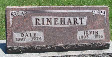 RINEHART, IRVIN - Worth County, Missouri | IRVIN RINEHART - Missouri Gravestone Photos