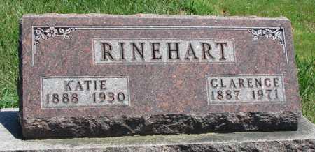 RINEHART, CLARENCE - Worth County, Missouri | CLARENCE RINEHART - Missouri Gravestone Photos