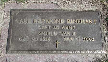 RINEHART, PAUL RAYMOND WW II VETERAN - Worth County, Missouri | PAUL RAYMOND WW II VETERAN RINEHART - Missouri Gravestone Photos