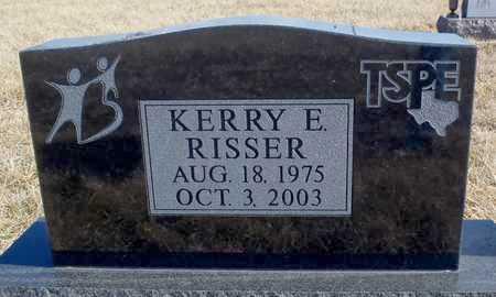 RISSER, KERRY E. - Worth County, Missouri | KERRY E. RISSER - Missouri Gravestone Photos