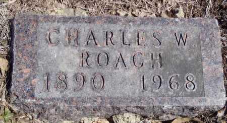 ROACH, CHARLES W. - Worth County, Missouri | CHARLES W. ROACH - Missouri Gravestone Photos