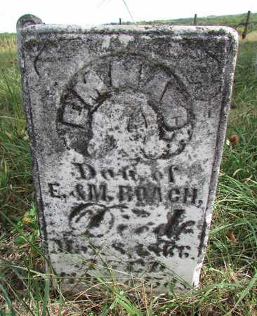 ROACH, EMMA - Worth County, Missouri | EMMA ROACH - Missouri Gravestone Photos