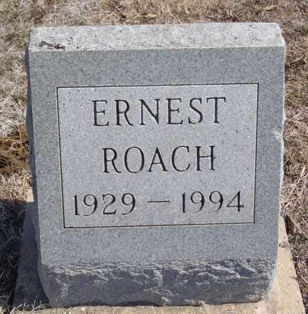 ROACH, ERNEST - Worth County, Missouri   ERNEST ROACH - Missouri Gravestone Photos