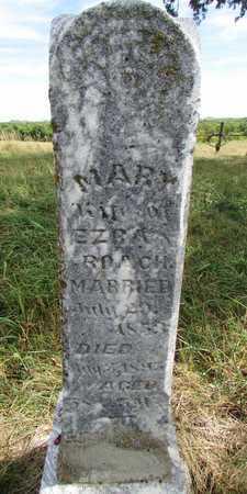 STARR ROACH, MARY - Worth County, Missouri | MARY STARR ROACH - Missouri Gravestone Photos