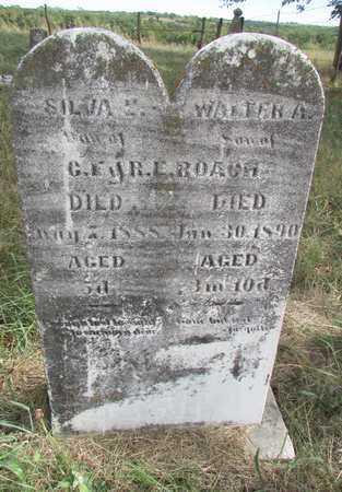 ROACH, WALTER A - Worth County, Missouri | WALTER A ROACH - Missouri Gravestone Photos