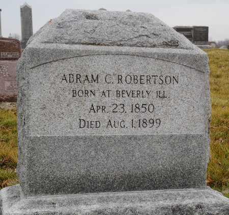 ROBERTSON, ABRAM CONROY JR. - Worth County, Missouri | ABRAM CONROY JR. ROBERTSON - Missouri Gravestone Photos