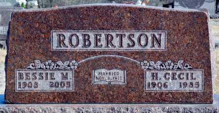 ROBERTSON, H. CECIL - Worth County, Missouri | H. CECIL ROBERTSON - Missouri Gravestone Photos
