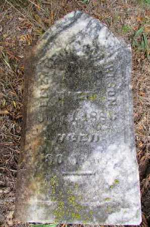 ROBERTSON, ELIZABETH - Worth County, Missouri | ELIZABETH ROBERTSON - Missouri Gravestone Photos