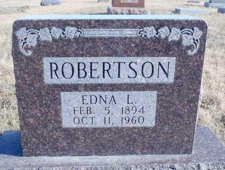 ROBERTSON, EDNA LAVINA - Worth County, Missouri | EDNA LAVINA ROBERTSON - Missouri Gravestone Photos