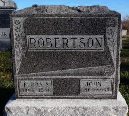 ROBERTSON, FLORA S. - Worth County, Missouri | FLORA S. ROBERTSON - Missouri Gravestone Photos