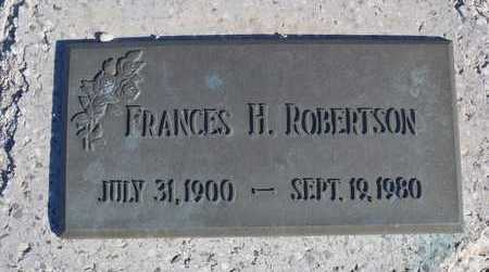 ROBERTSON, FRANCES MARGARET - Worth County, Missouri | FRANCES MARGARET ROBERTSON - Missouri Gravestone Photos