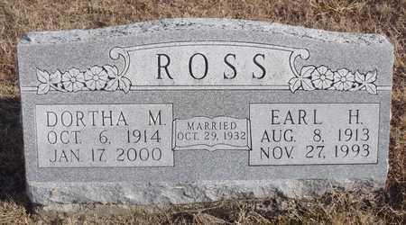 ROSS, EARL HENRY - Worth County, Missouri | EARL HENRY ROSS - Missouri Gravestone Photos