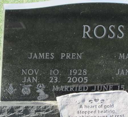 "ROSS, JAMES PREN ""JIM"" - Worth County, Missouri   JAMES PREN ""JIM"" ROSS - Missouri Gravestone Photos"