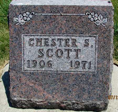 SCOTT, CHESTER S. - Worth County, Missouri | CHESTER S. SCOTT - Missouri Gravestone Photos