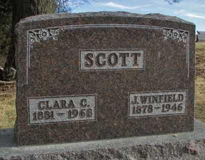 SCOTT, JOSEPH WINFIELD - Worth County, Missouri | JOSEPH WINFIELD SCOTT - Missouri Gravestone Photos