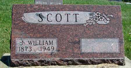 SCOTT, J. WILLIAM - Worth County, Missouri | J. WILLIAM SCOTT - Missouri Gravestone Photos