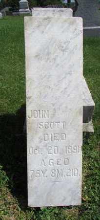SCOTT, JOHN - Worth County, Missouri | JOHN SCOTT - Missouri Gravestone Photos