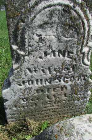 EATON SCOTT, JANE - Worth County, Missouri   JANE EATON SCOTT - Missouri Gravestone Photos