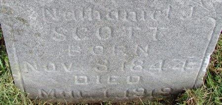 SCOTT, NATHANIEL JAMES - Worth County, Missouri | NATHANIEL JAMES SCOTT - Missouri Gravestone Photos