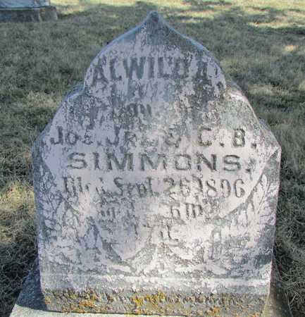 SIMMONS, AWILDA - Worth County, Missouri | AWILDA SIMMONS - Missouri Gravestone Photos